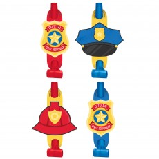 First Responders Party Supplies - Blowouts