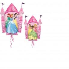 Disney Princess SuperShape XL Multi-Princess Castle Shaped Balloon
