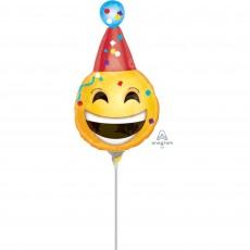 Emoji Mini Birthday Emoticons Shaped Balloon