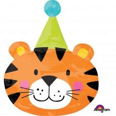 Big Top SuperShape XL Circus Tiger Shaped Balloon