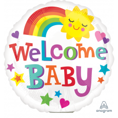 Baby Shower - General Bright & Bold Foil Balloon