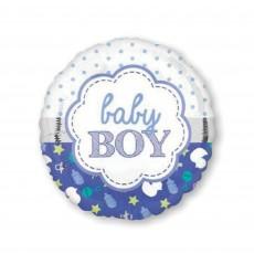Baby Shower - General Scallop Design Foil Balloon