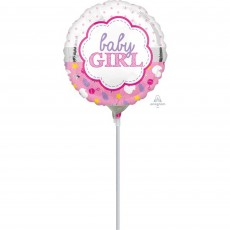 Baby Shower - General Scallop Foil Balloon