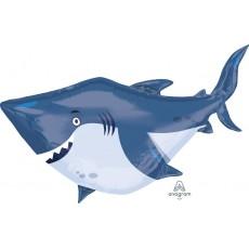 Shark Splash Ocean Buddies Shark Foil Balloon