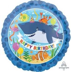 Shark Splash Standard HX Ocean Buddies Foil Balloon