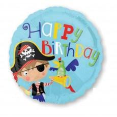 Pirate's Treasure Little Pirate Standard HX Foil Balloon