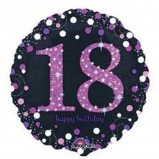 18th Birthday Pink Celebration Foil Balloon