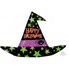 Halloween SuperShape Witch Hat Shaped Balloon