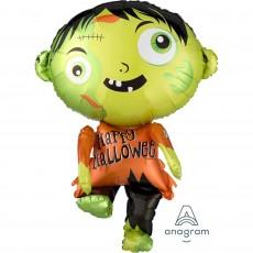 Halloween SuperShape Zombie Shaped Balloon
