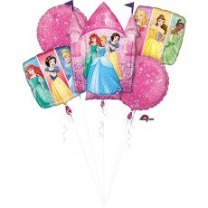 Disney Princess Dream Big Bouquet Foil Balloons Pack of 5