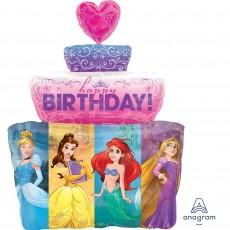 Disney Princess SuperShape XL Multi-Princess Cake Shaped Balloon