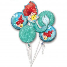 The Little Mermaid Ariel Dream Big Bouquet Foil Balloons