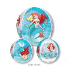 The Little Mermaid Ariel Dream Big 4 Sided Design Shaped Balloon