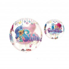 Shimmer & Shine Clear  Shaped Balloon
