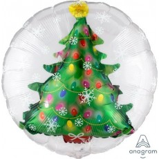 Christmas Insiders  Tree Foil Balloons