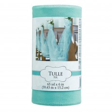 Blue Robin's Egg Tulle Spool Misc Decoration
