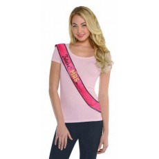 Hens Night Sassy Bride Sash Costume Accessorie