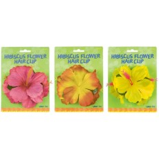 Hawaiian Luau Hibiscus Flower Hair Clip Head Accessorie