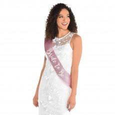 Bridal Shower Deluxe Fabric Sash Costume Accessorie