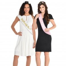 Bachelorette Sashes Costume Accessories