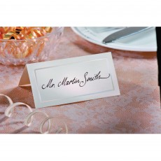 Ivory Pearlized Place Cards Misc Accessories