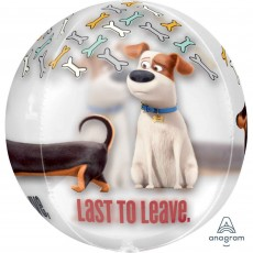 The Secret Life of Pets Party Decorations - Shaped Balloon Clear Orbz