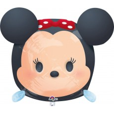 Tsum Tsum Minnie & Stick On Ears Foil Balloon