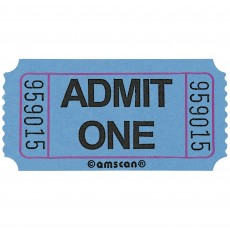 Blue Party Supplies - Ticket Roll