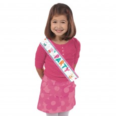 Peppa Pig Confetti Party Party Sash Costume Accessorie