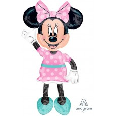 Minnie Mouse Airwalker Foil Balloon
