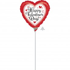 Valentine's Day Simply Traditional Shaped Balloon