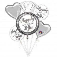 Wedding Bouquet Foil Balloons