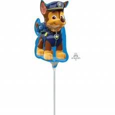 Paw Patrol Chase Mini Shaped Balloon