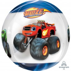 Blaze & The Monster Machines Clear Shaped Balloon