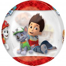 Paw Patrol Chase & Marshall Clear Shaped Balloon