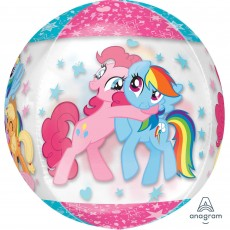 My Little Pony Party Decorations - Shaped Balloon Clear Orbz XL