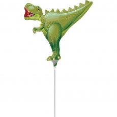 Dinosaur Mini T-Rex Shaped Balloon