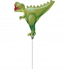 Mini T-Rex Dinosaur Shaped Balloon