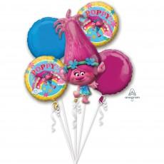 Trolls Bouquet Foil Balloons