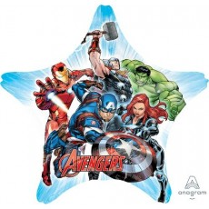 Star Avengers Jumbo Shape HX Shaped Balloon 81cm