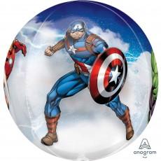 Orbz Avengers Shaped Balloon 38cm x 40cm