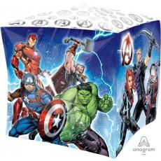 Cubez Avengers UltraShape Shaped Balloon 38cm x 38cm