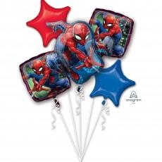 Spider-Man Bouquet Foil Balloons