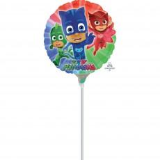 Round PJ Masks Foil Balloon 22cm