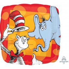 Dr Seuss Standard HX Shaped Balloon