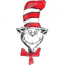 Dr Seuss Cat in the Hat SuperShape XL Shaped Balloon