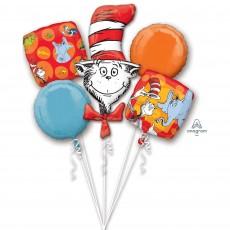 Dr Seuss Bouquet Foil Balloons