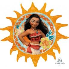 Moana Sun Design Foil Balloon