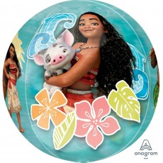 Moana Party Decorations - Shaped Balloon Clear Orbz XL