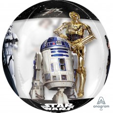 Star Wars Clear Classic Shaped Balloon